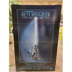 STAR WARS RETURN OF THE JEDI STAND UP POSTER