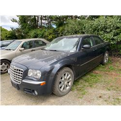 2008 CHRYSLER 300, LIMITED, BLUE, GAS, 4DRSD, AUTOMATIC, VIN#2C3KA33GX8H294924, 200,869KMS,