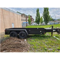 2016 HEAVY DUTY PAN TRAILER VIN #4FVGTBHB8GU474971 *NO REGISTRATION*MUST TOW* H.D. CRANK JACKLEG