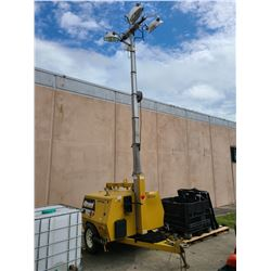 2011 ALLMAND LIGHT PLANT, 20 KILO WATT GENERATOR/LIGHT TOWER VIN#5AEAH1512BH000265,