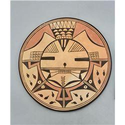 Hopi Pottery Plaque Vivian Muchuo