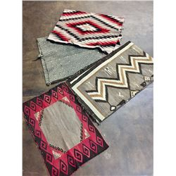 Group of  Vintage Navajo Rugs - Project Rugs
