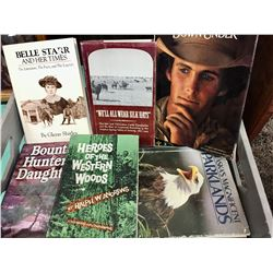 Group of 30 Hardback Western Themed Books