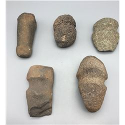 Group of Prehistoric Stone Tools