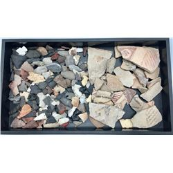Group of Prehistoric Stone Items and Pottery Sherds