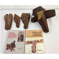 Gun Belt, Holsters and Books