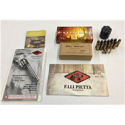 Miscellaneous Bullets and Revolver Cylinder