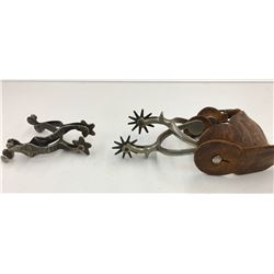 Two Pairs of Vintage Spurs