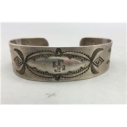 Old Bracelet with Whirling Logs