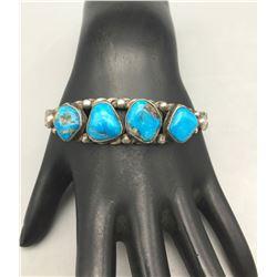 Four Stone Twisted Wire Bracelet
