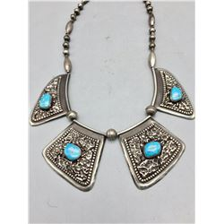 Unique Looking Turquoise Necklace *SOLD*