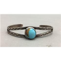 Fred Harvey Era Turquoise Bracelet