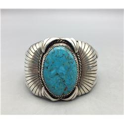 Large Stone Turquoise Bracelet