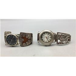Two Vintage Watch Bracelets