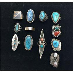 Group of 12 Vintage Rings