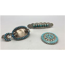 Pin, Watch and Hair Barrette