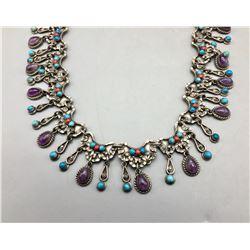 Unique Multi Stone Necklace