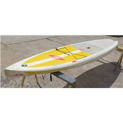 "Surftech SUP Stand Up Paddle Board White & Yellow 11'6""x5.25"" 202IL"
