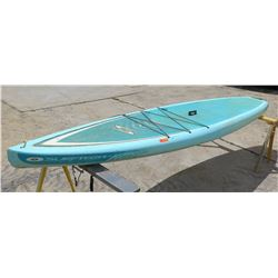 "Surftech SUP Stand Up Paddle Board Blue & White R. French 11""6'x30""x5.25"""