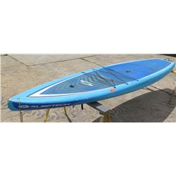 "Surftech SUP Stand Up Paddle Board Blue & White R. French 12'6"" x 32""x 5.75"""
