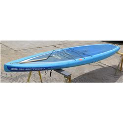 "Surftech SUP Stand Up Paddle Board Blue & White R. French 12'6"" x 32"" x 5.75"""