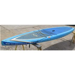 Surftech SUP Stand Up Paddle Board Blue & White R. French 12'6  x 32  x 5.75
