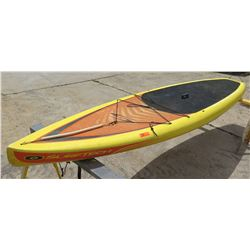 """Surftech SUP Stand Up Paddle Board Yellow & Red R. French 11""""6'x30""""x5.25"""""""