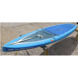"""Surftech SUP Stand Up Paddle Board Blue & White R. French 12""""6'x32""""x5.75"""""""