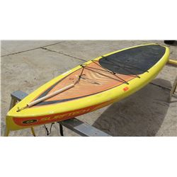 Surftech SUP Stand Up Paddle Board Yellow & Red R. French 11 6'x30 x5.25