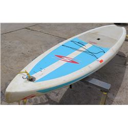 "Surftech SUP Stand Up Paddle Board White & Blue R. French 12""6'x31""x5.5"" 248.4L"