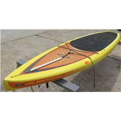 "Surftech SUP Stand Up Paddle Board Yellow & Red R. French 11""6'x30""x5.25"""