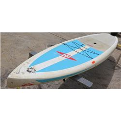 "Surftech SUP Stand Up Paddle Board White & Blue R. French 12""6'x31""x5.5"""