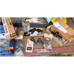 Misc Bike Parts - Yakima Wheel Forks, Multi Mounts, Gunwale Brackets, Wheel Straps etc