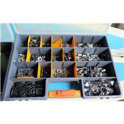 Tool Organizer w/ Nuts, Clamps, Spacers, Fittings, etc