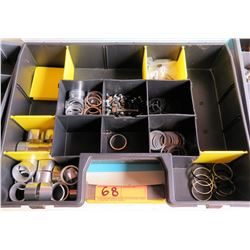 Tool Organizer w/ Gaskets, Spacers, O-Rings, Fittings, etc