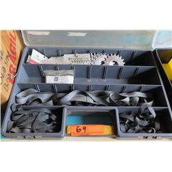 Tool Organizer w/ Dimension Components Rock Shok Bar Service Kits, Rubber Belts, etc