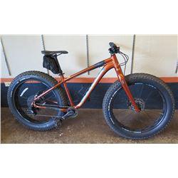 Kona WO Fat Tire Bike, Retail $1599