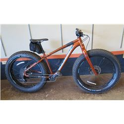 Kona WO Fat Tire Bike, Retail $1599