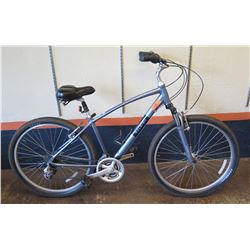 Raleigh Venture 2 Comfort Bike w/ Suspension Seat Post & Forks, Kenda Paved/Gravel Road Tires