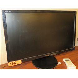 ASUS Asustek Sterling LCD Widescreen Computer Monitor Model VE258