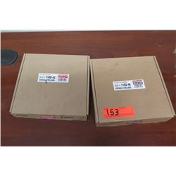 New Bike Parts - Qty 2 Boxes 10 Brown 71RD-48 & 9 Red 71RD-42 Tire Liners