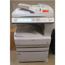 Sharp AR-M257 Mono Laser Office Copier & 4 Box Brother TN-315BK Toner (works, no known problems)