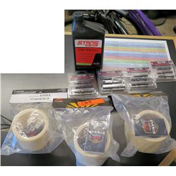 New Bike Parts - Sun Ringle STR Tubeless Rim Tape, Stan's Tire Sealant & Muc-Off Tubeless Valves