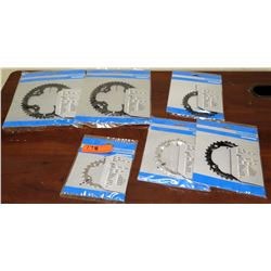 Qty 6 New Misc Size Shimano Direct Mount Chainrings