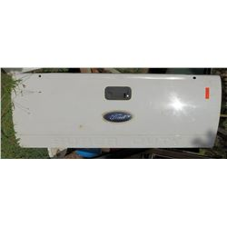 White Ford Super Duty Truck Tail Gate from 2010 Ford F-350