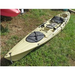 Ocean Kayak Yellow Single 1-Person Kayak w/ Rudder
