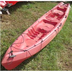 Ocean Kayak Zest Two Exp Red Tandem 2-Person Expedition Kayak