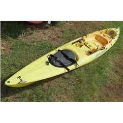 Ocean Kayak Prowler 15 Yellow Single 1-Person Kayak w/ Rudder