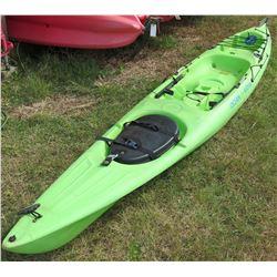 Ocean Kayak Prowler 15 Green Single 1-Person Kayak w/ Rudder