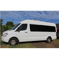 2008 Mercedes Sprinter 15-Passenger Van, Lic. 789KBN, 177554 Miles (Runs & Drives, See Video)